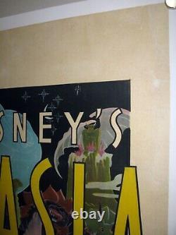 Fantasia Walt Disney Animation Entoilée Fiche Rare Un Australien 1940