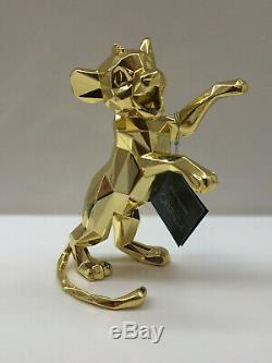 Figurine Simba Le Roi Lion (disney) D'orlinski De Disneyland Paris Complet