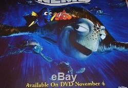 Finding Nemo De Disney Rare 48 X 48 Affiche De Promo Pixar