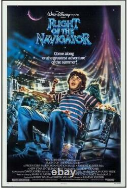 Flight Of The Navigator Affiche De Cinéma Originale 1989 Disney Hollywood Affiches