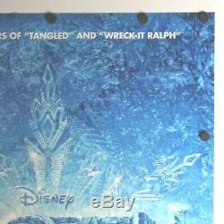 Frozen 2013 Disney Double Sided Originale Affiche Du Film 27 X 40