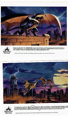 Gargouilles Production Rare Dossier De Presse Disney