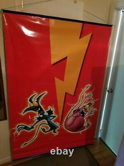 Hercules Vinyl Officiel Movie Poster Banner Double Sided 70x47 Htf