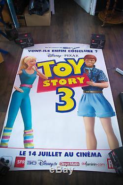 Histoire De Jouet 3 Un Abri De Bus Walt Disney Pixar 4x6 Ft Affiche De Film Originale 2010