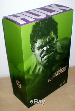 Hot Toys Mms186 Disney Marvel Universe Mcu Avengers 2012 Ruffalo Incroyable Hulk