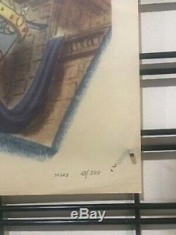 Ichabod Et Mr. Toad Original Une Feuille Poster 1949 Walt Disney Sleepy Hollow