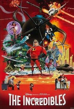 Indestructibles Une Feuille Affiche Du Film 27x40 Disney Pixar Bird Brad Robert Mcginnis