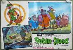 Jo44d Robin Walt Disney 10 Orig Affiche Italien