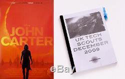 John Carter (2012) Disney Production Utilisée Au Royaume-uni Tech Manuel