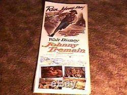 Johnny Tremain 14x36 Affiche De Film 1957 Disney