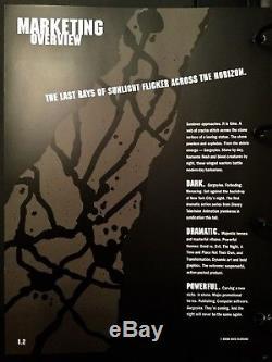 Le Guide De Style Promotionnel Rare Des Gargoyles Série De Tv Disney Art! Buena Vista
