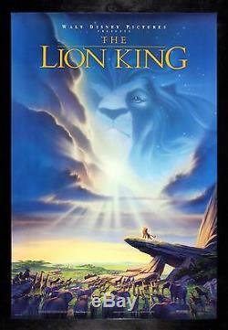 Le Lion King Cinemasterpieces Poster Orvinal Film Ds Nm-m 1994 Disney