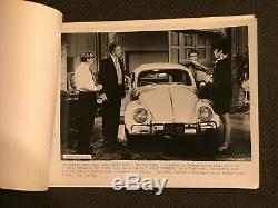 Le Love Bug Original 1968 Publicité Advance Photos Book- Herbie Walt Disney