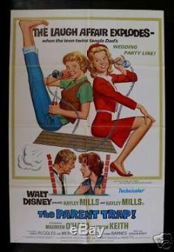 Le Parent Piège 1sh Originé Affiche De Film 1968r Disney