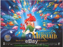 Le Petit Poster Film Mermaid Original R1997 Britannique Quad