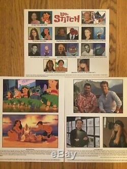 Lilo & Stitch Dossier De Presse Disney 8x10 Photos, Plus Couleur Diapositives