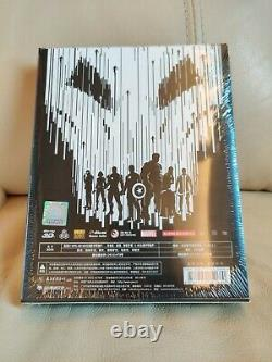 Livre D'acier Blu-ray Exclusif Avengers 2 Blufans, Scellé/minute, Fullslip, 010/700