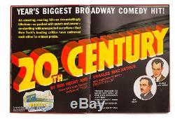 Livre Des Exposants Columbia Pictures 1933-34 Couleur Spectaculaire Capra Disney Lombard