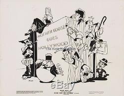 Ma Mère L'oye Goes Hollywood-marx Bros / Laurel & Hardy / Walt Disney Photo-1938-rare