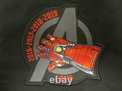Marvel Studios Disney Avengers Endgame Iron Man Promo Film Crew Jacket