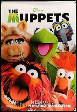 Muppets 2 Faces Abribus Affiche Du Film 4'x6' #themuppets #disney #muppets