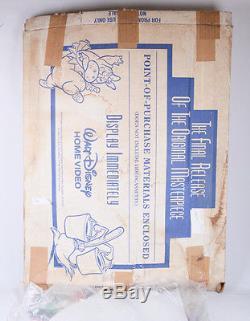 Nouveau Fantasia Standee De Disney, Grande Promotion D'affichage De Plancher De Cru, Jamais Assemblée