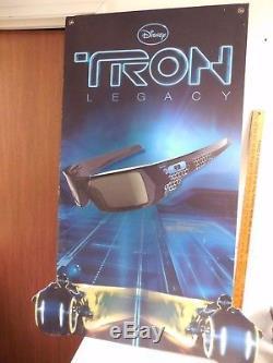 Oakley 3d Gascan Lunettes Édition Limitée Tron Legacy Disney Film 2 Side Poster