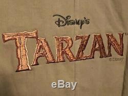 Officiel Authentique Disney Officiel Walt Tarzan Feature Veste Équipage D'animation