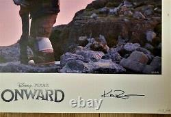 Onward Disney Pixar Lithograph Limited Edition Promo Signé Oscar Nom