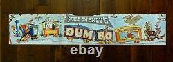 Original 1941 Walt Disney's Movie Dumbo, Affiche Festoon. À Partir De 1941 Dossier De Presse