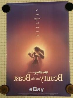 Original Disney Beauty And The Beast 1991 Numéroté Ds Affiche Théâtrale 27 X 40