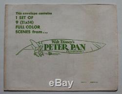Peter Pan Carte Lobby Us 1976 Mis En Animation Disney Version