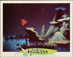 Peter Pan Lobby Card Lot De 9 Affiche De Film Disney 11x14 Pouces R1978 Très Fine