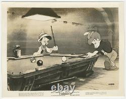 Pinocchio Vintage Still Photo Walt Disney 1940 Fairy Pool