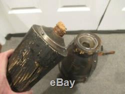 Pirates Des Caraïbes Barbossa Peg Leg W Écran De Protection Pour Flacon Caché Utilisé Disney