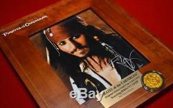 Pirates Des Caraïbes Disney Prop, DVD Blu Ray Johnny Depp Signé, Disney Coa