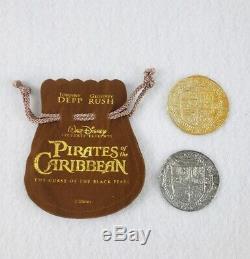 Pirates Des Caraïbes Film De Cinéma Original Pièces De Rechange Rare Disney Htf Potc