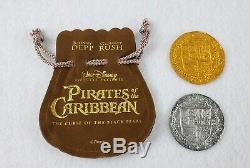 Pirates Des Caraïbes Film Pièces D'origine Film Prop Rare Disney Htf Potc