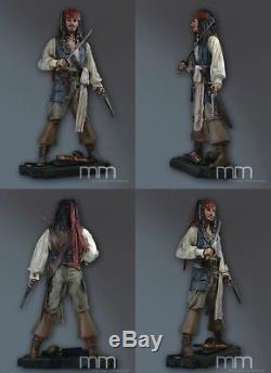 Pirates Des Caraïbes Jack Sparrow 11 Statue / Figurine Grandeur Nature