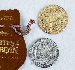 Pirates Des Caraïbes Original Movie Film Prop Coins Rare Disney Htf Potc