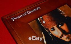 Pirates Des Caraibes Prop Disney, Blu Ray DVD John John Depp Signé, Disney Coa