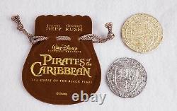 Pirates Of The Caribbean Original Film Prop Coins Rare Disney Htf Potc
