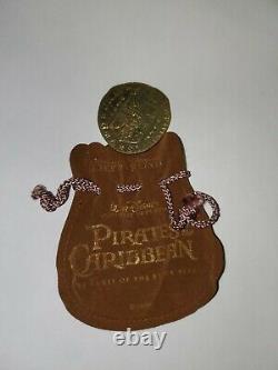 Pirates Of The Caribbean Original Film Prop Gold Coin Rare Disney Htf Potc