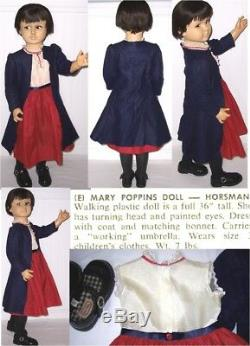 Poupée Taille 36 Vintage Disney Mary Poppins Playman Horsman Rare
