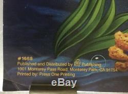 Rare # 1668 Discontinued Affiche De La Petite Sirène Disney Illustration Interdite 35x23