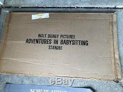 Rare Adventures Vintage En Garde Carton Film Standee Display Disney