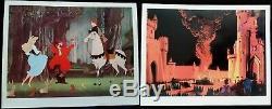 Rare Jeu De Cartes De Lobbying De La Première Édition Inutilisées De La Belle Au Bois Dormant De Disney (1959)