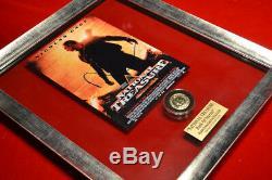 Rare Nic Cage, Accessoire National Treasure, Signé, Cadre, Blu Ray DVD Coa Uacc