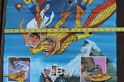 Rare Vintage 1981 Condorman Superhero Affiche De Film Baskin-robbins Walt Disney