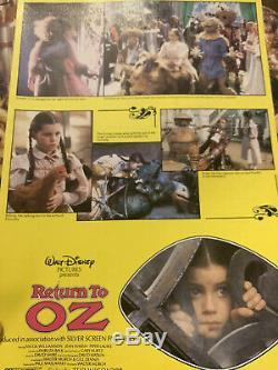 Retour À Oz Rare Uk Dossier De Presse Oz, Un Mundo Walt Disney